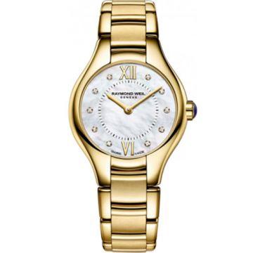 Raymond Weil Noemia Ladies Yellow Stainless Steel and Diamond Watch