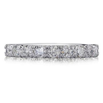 Christopher Design Crisscut Collection 10 Prong Set Diamond Wedding Band