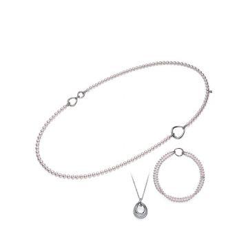 Mikimoto 18k White Gold Japan Pearl Ring