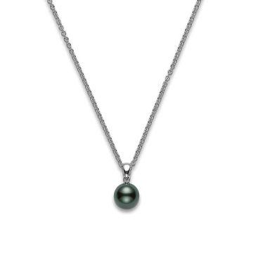 MIKIMOTO Black South Sea Cultured Pearl Pendant