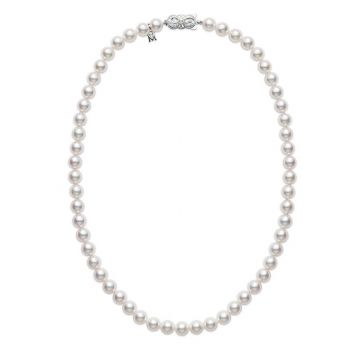 MIKIMOTO White Akoya Cultured Pearls