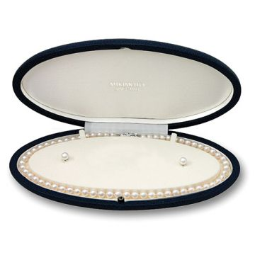 MIKIMOTO Special Edition, Two Piece 8-9mm Akoya Cultured Pearl Set