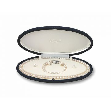 Mikimoto 18k White Gold Akoya Set Pearl Gift Sets