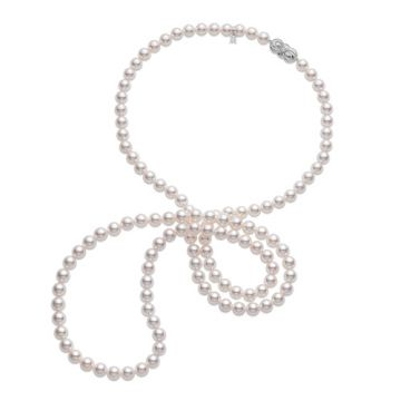 MIKIMOTO Special Edition, Akoya Cultured Pearl 42 inch Necklace