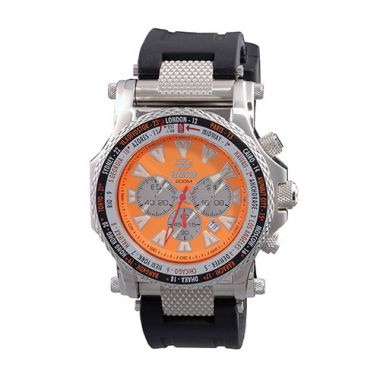 Reactor Proton World Time Men's Watch