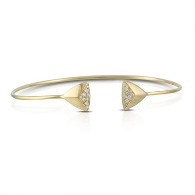 Doves 18k Yellow Gold Diamond Fashion Bracelet