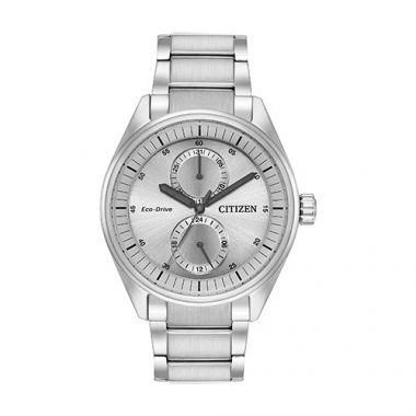 Citizen Paradex Men's White Stainless Steel Watch