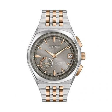 Citizen Satellite Wave - World Time GPS  Men's Two Tone Stainless Steel Watch