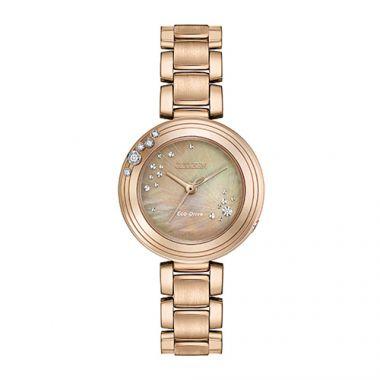Citizen L Carina Rose Stainless Steel Women's Watch