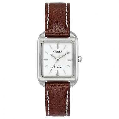 Citizen Ladies Eco-Drive Stainless Steel Chandler Timepieces