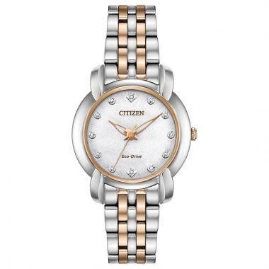 Citizen Ladies Eco-Drive Stainless Steel Jolie Timepieces