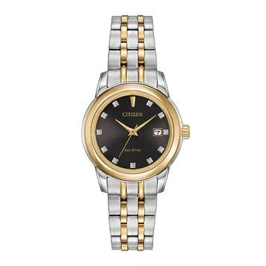 Citizen Ladies' Diamond Two-Tone Stainless Steel Women's Watch