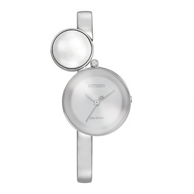 Citizen L Ambiluna White Stainless Steel Women's Watch