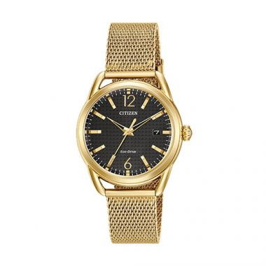 Citizen LTR Ladies Yellow Stainless Steel Watch
