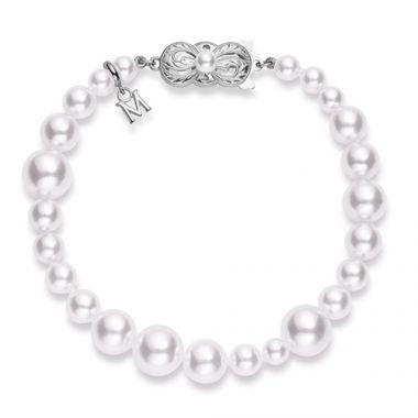MIKIMOTO Graduated Akoya Pearl Bracelet